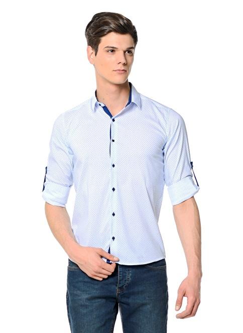 Adze Gömlek Beyaz